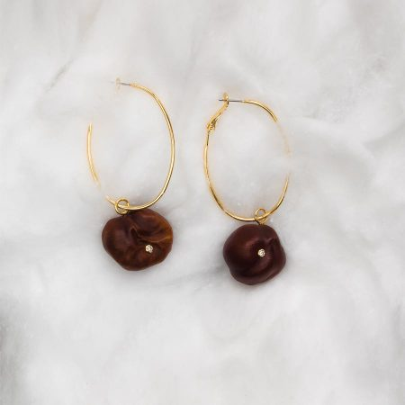 A corny pair of earrings