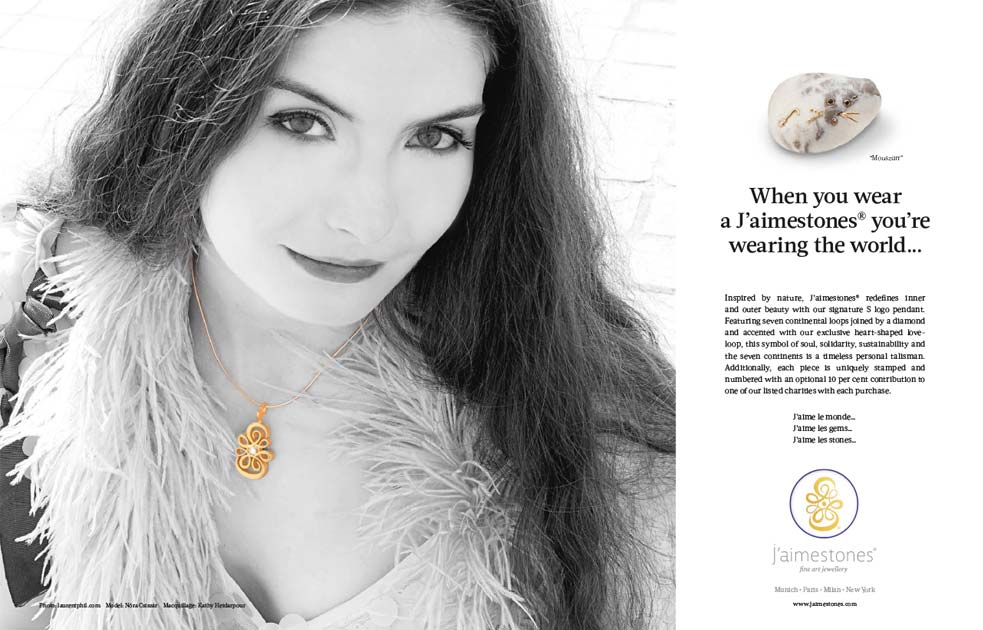 J´aimestones® | fine art jewellery Advertising